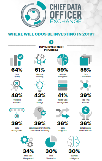 Top 15 Data Investment Priorities for 2019