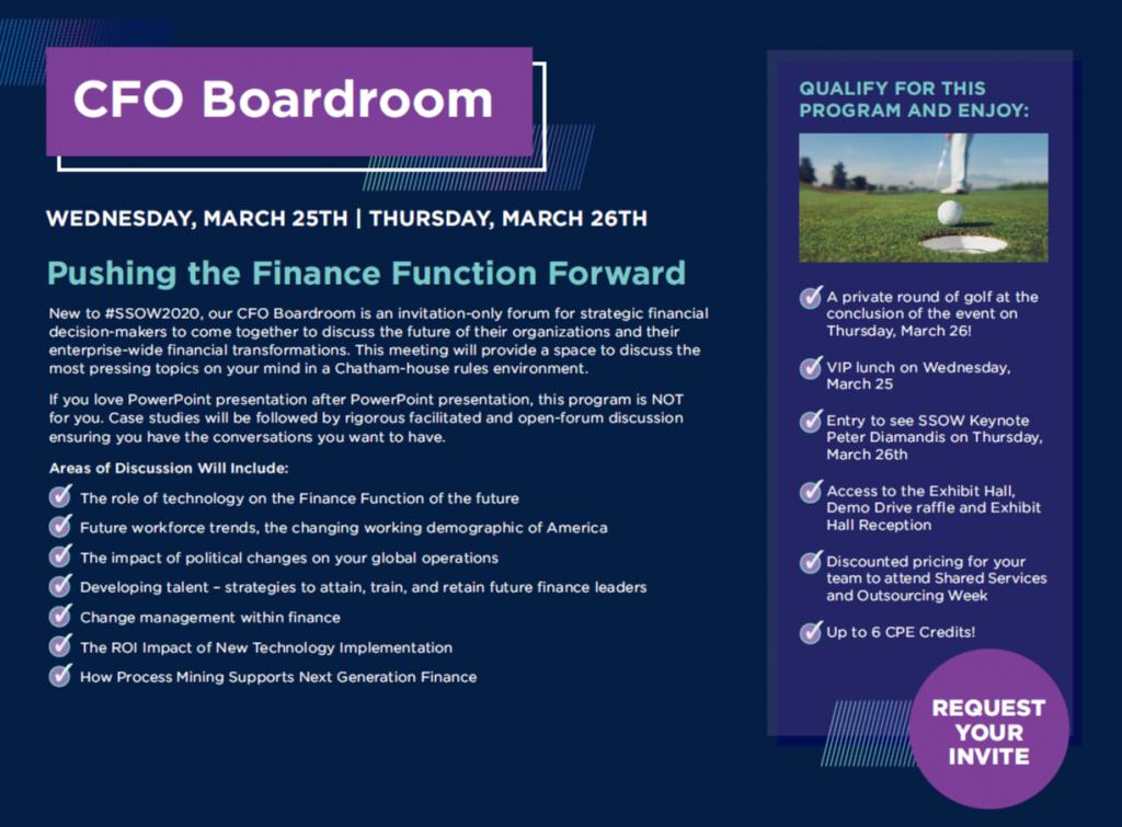 CFO Boardroom Agenda