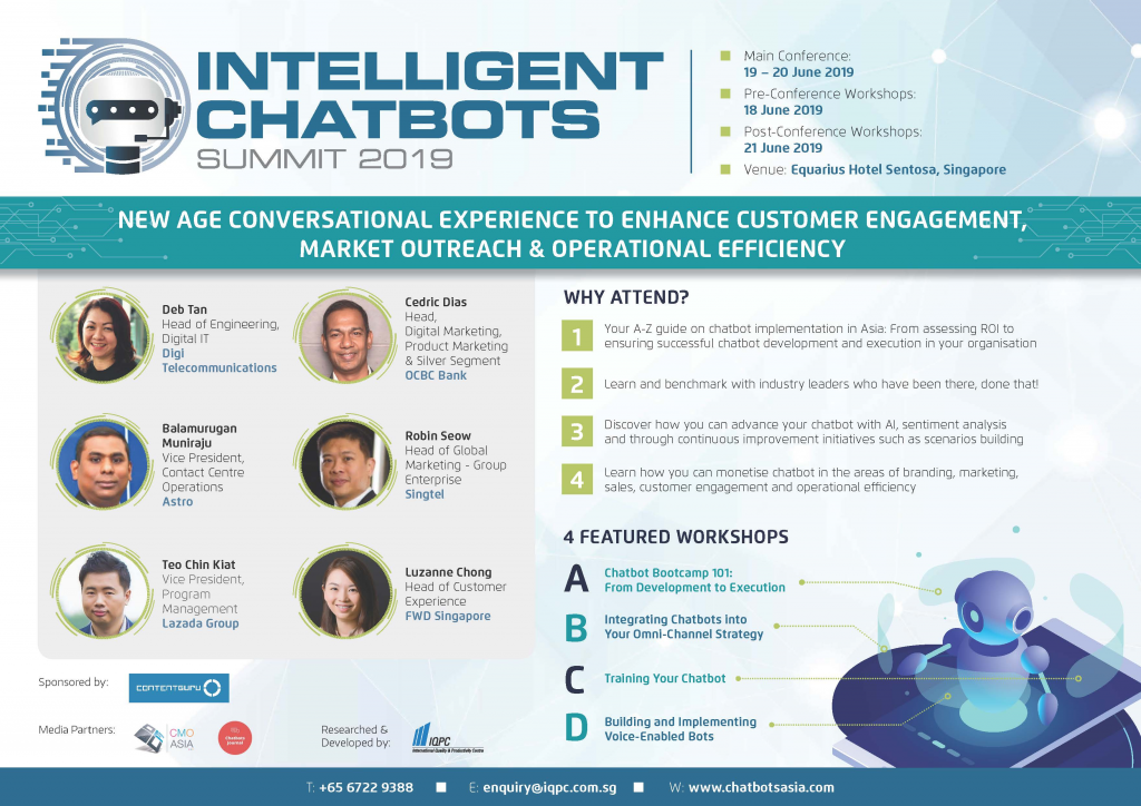 Download Intelligent Chatbots 2019 Full Brochure