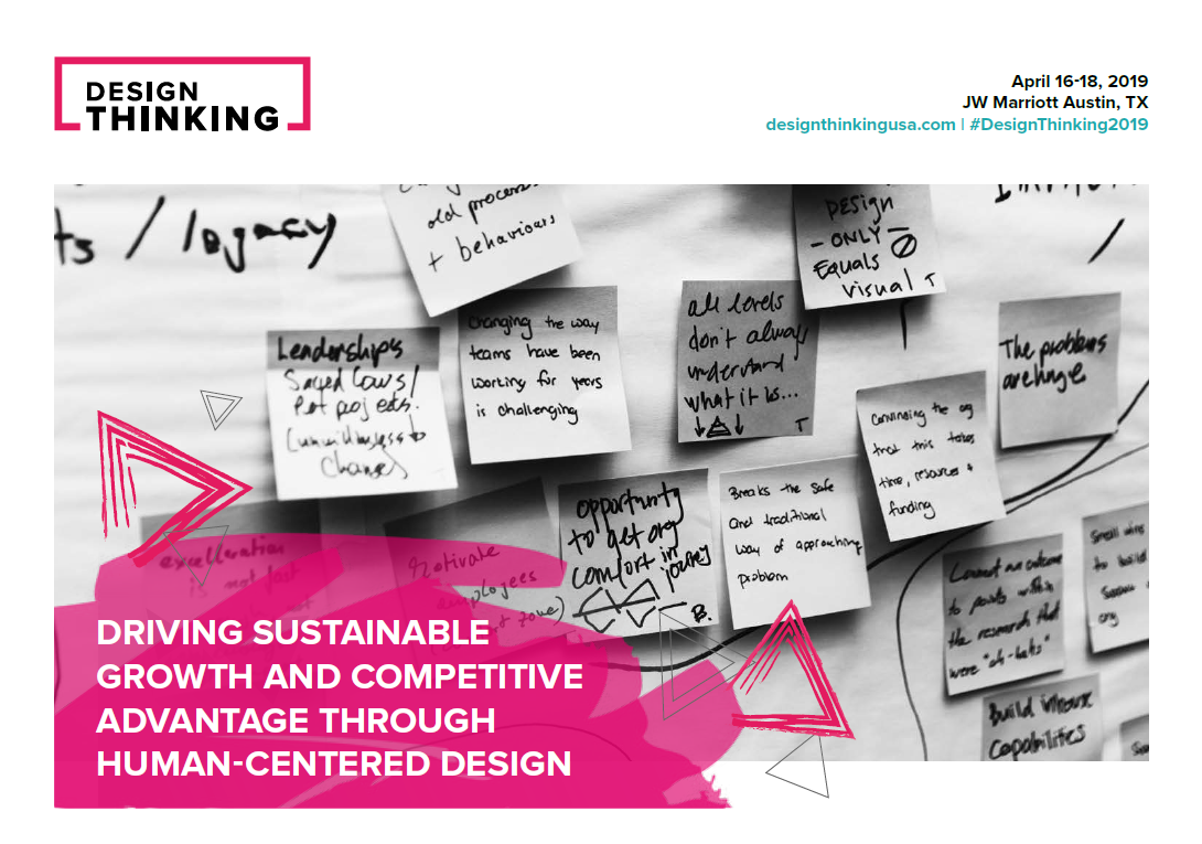 2019 Design Thinking Brochure