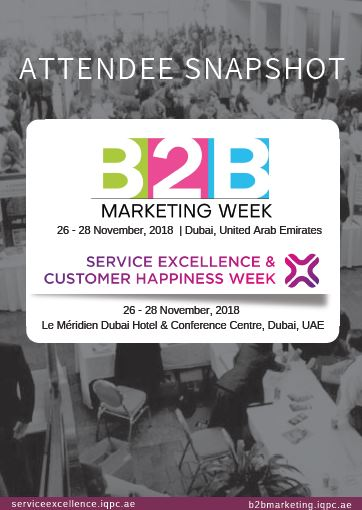 Attendee Snapshot: Service Excellence and Customer Happiness Week and B2B Marketing Week