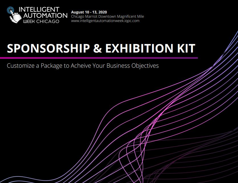 Intelligent Automation Week Sponsorship & Exhibition Prospectus 2020