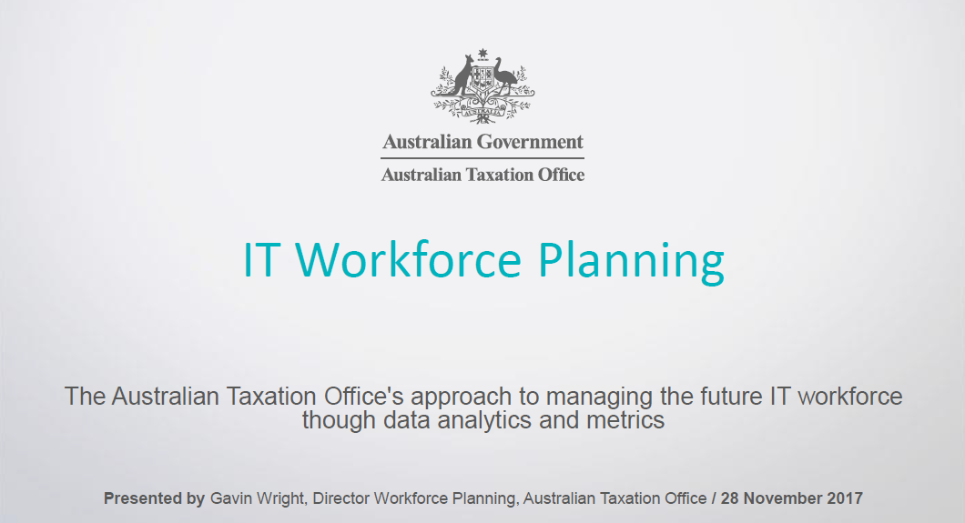 The Australian Taxation Office's approach to managing the