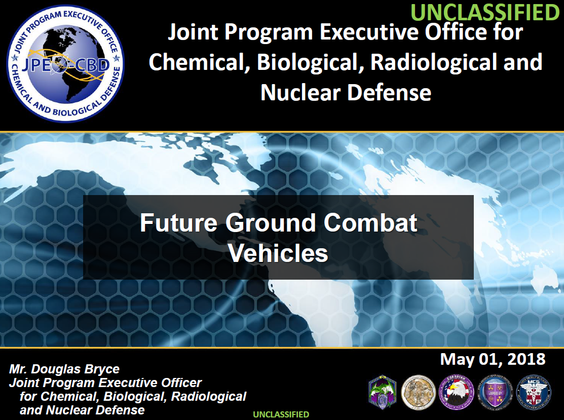 Addressing the Challenges of Combat Vehicles Operating in a CBRNE Environment