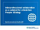 Integrated Talent Management: Inter-professional Collaboration as a Catalyst for a Next-Gen People Strategy