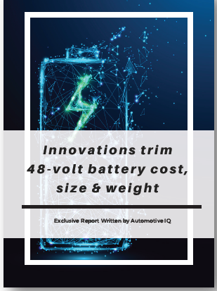 Innovations trim 48-volt battery cost, size and weight