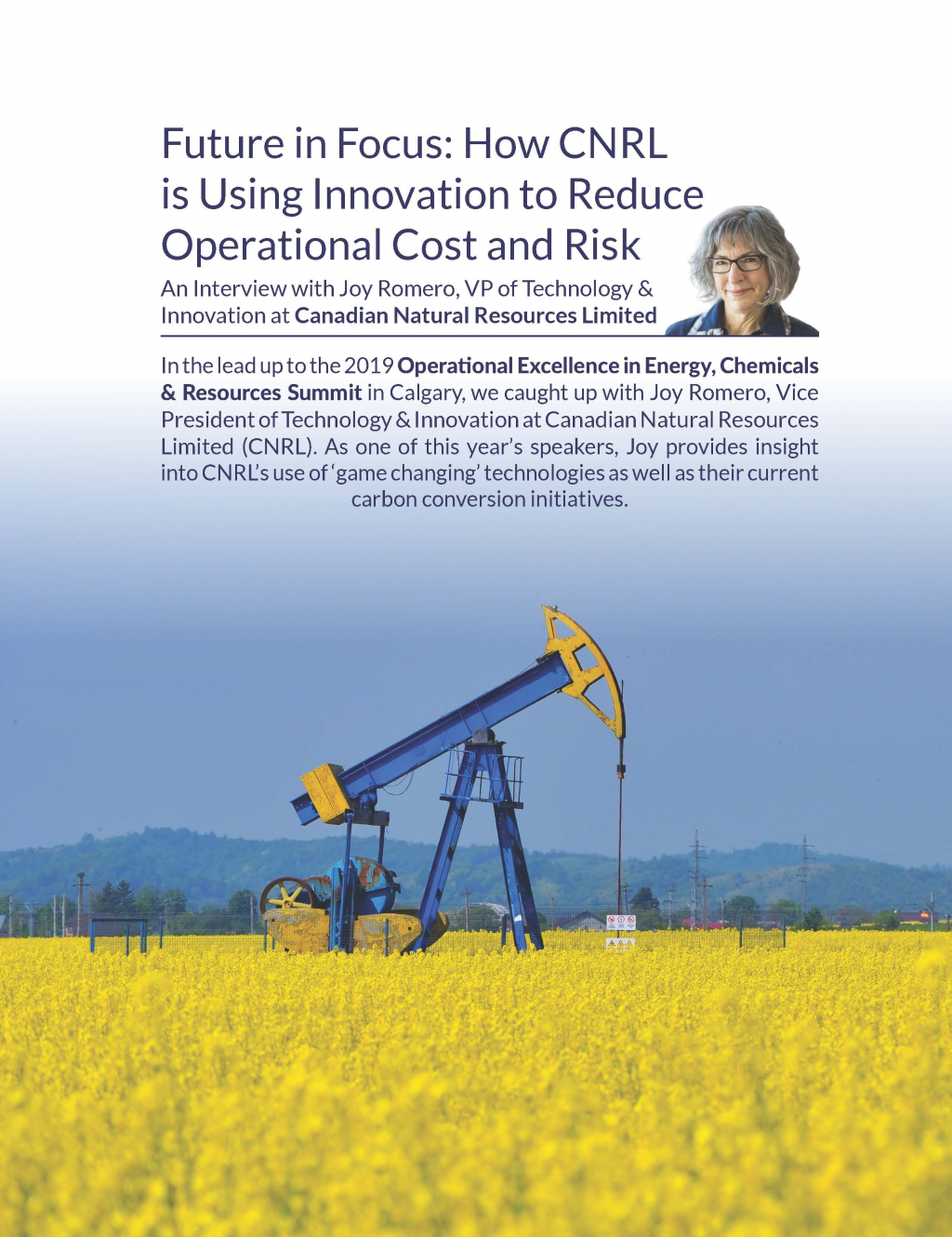 Future in Focus: How CNRL is Using Innovation to Reduce Operational Cost and Risk