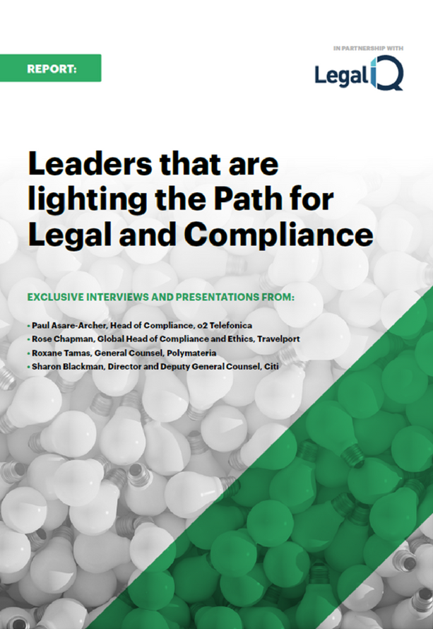 Leaders that are Lighting the Path for Legal and Compliance Report