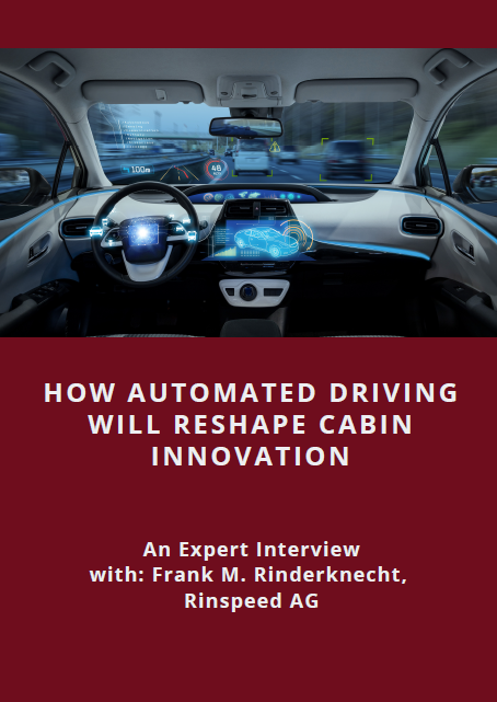 Expert interview on how automated driving will reshape cabin innovation