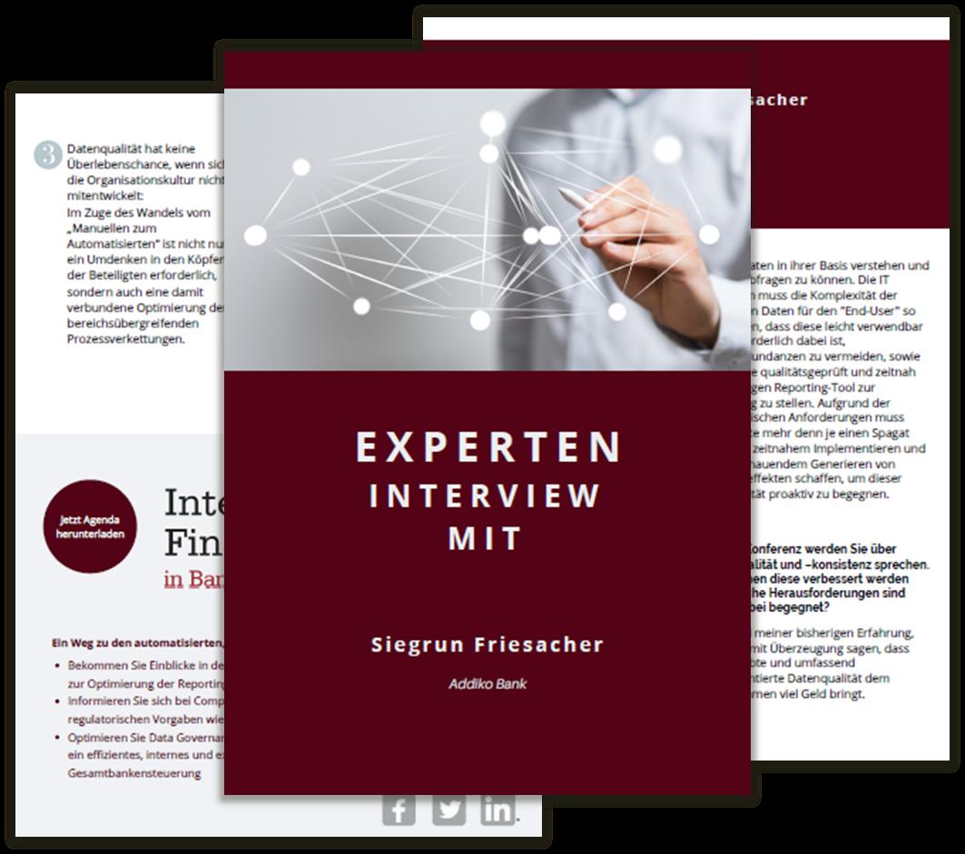 Interview mit Siegrun Friesacher - Addiko Bank