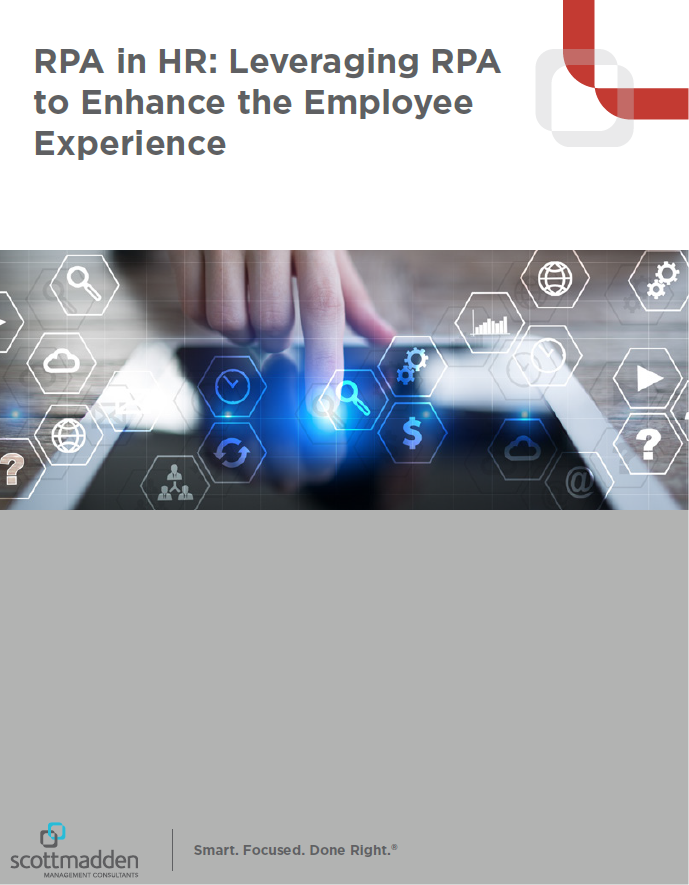 RPA in HR: Leveraging RPA to Enhance the Employee Experience