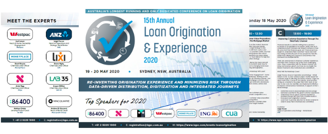 Event Guide | Loan Origination & Experience 2020