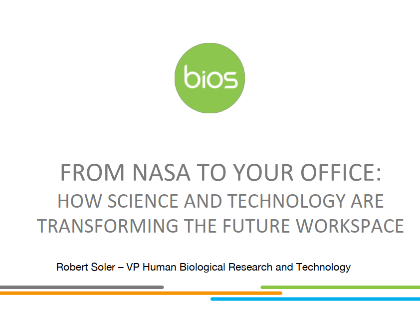 From NASA to Your Office: How Science & Technology are Transforming the Workplace