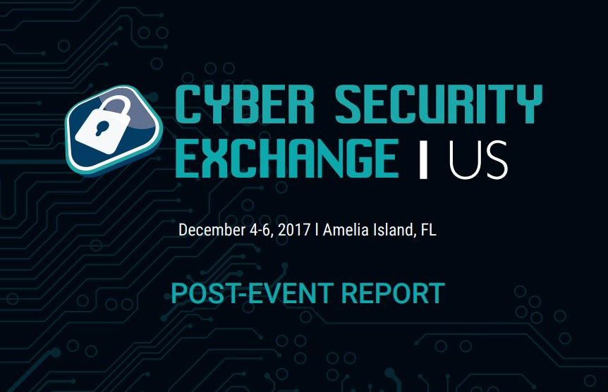 2017 Cyber Security Exchange Post Event Report