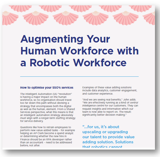 Augmenting Your Human Workforce with a Robotic Workforce