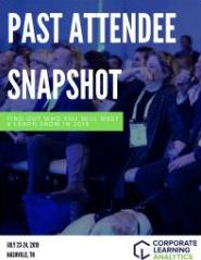 CLA 2019 Past Attendee Snapshot
