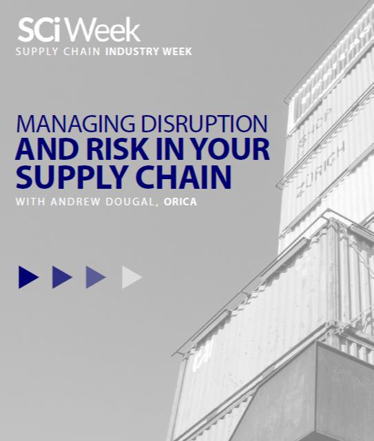 Supply Chain Industry Week - spex - Orica case study