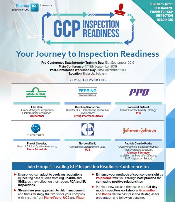 GCP Inspection Readiness Event Guide