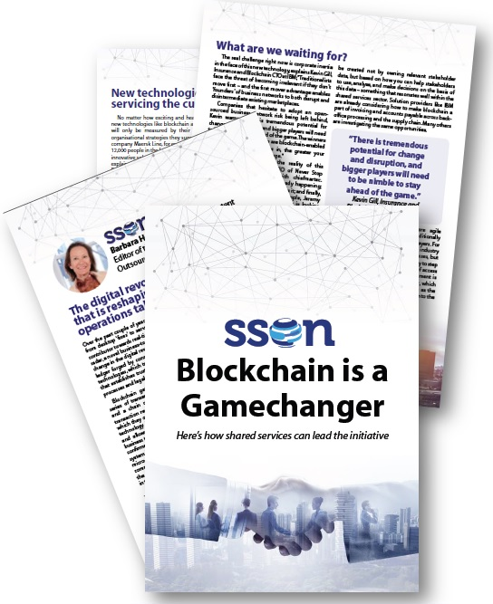 Blockchain is a Gamechanger: How Shared Services Can Lead The Initiative