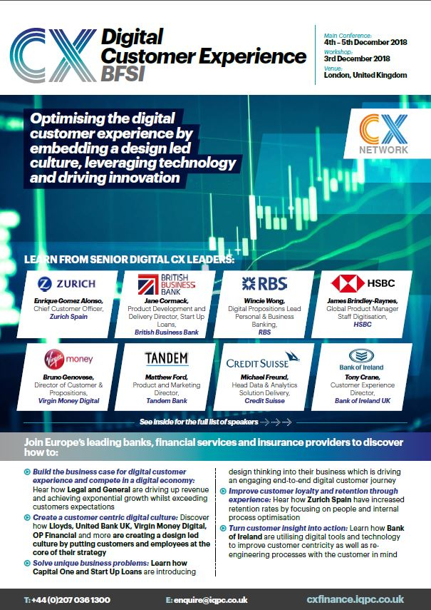 Digital CX Transformation Financial Services Event Guide