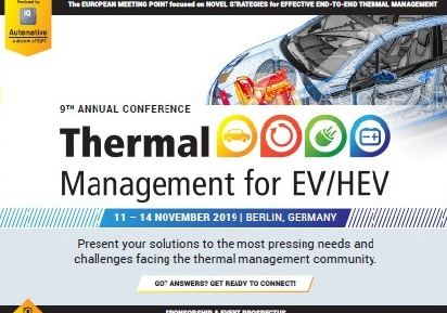 Partner Content: Thermal Management 2020 for EV/HEV - Get Ready to Connect.