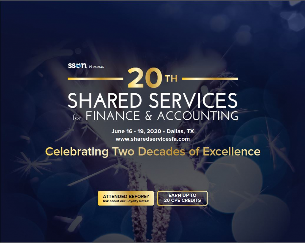 Agenda for Solutions Providers: Shared Services for Finance & Accounting