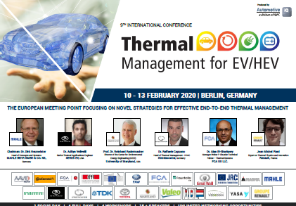 Partner Content: Thermal Management for EV/HEV Conference 2020! - Get the Info!