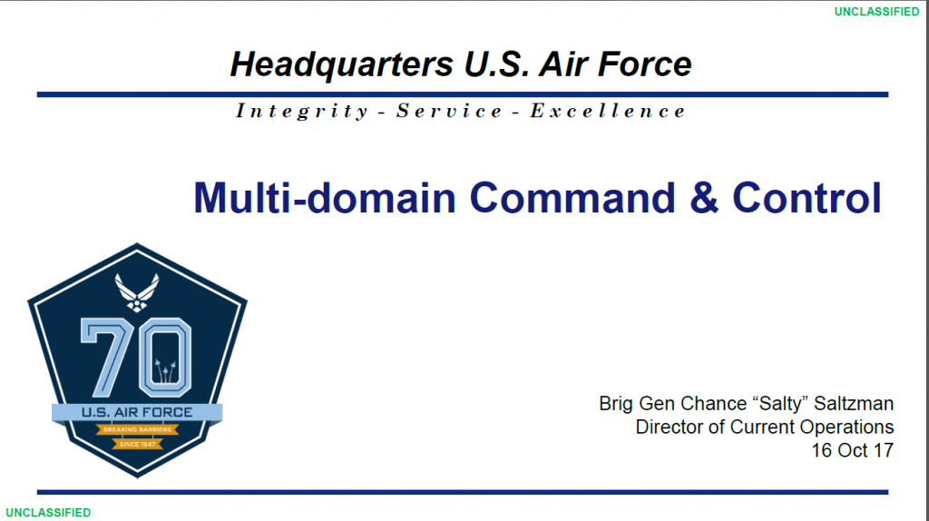 Multi-domain Command & Control