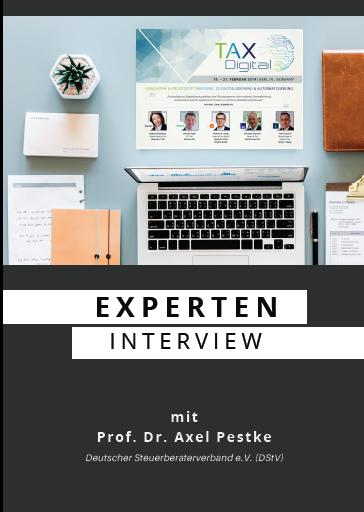 Experteninterview mit Prof. Dr. Axel Pestke, Hauptgeschäftsführer des DStV