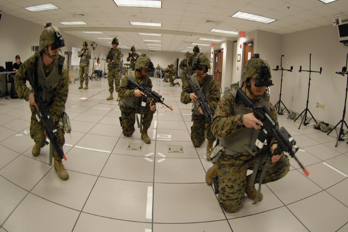 Virtual reality for defence less about 'reality' than results.