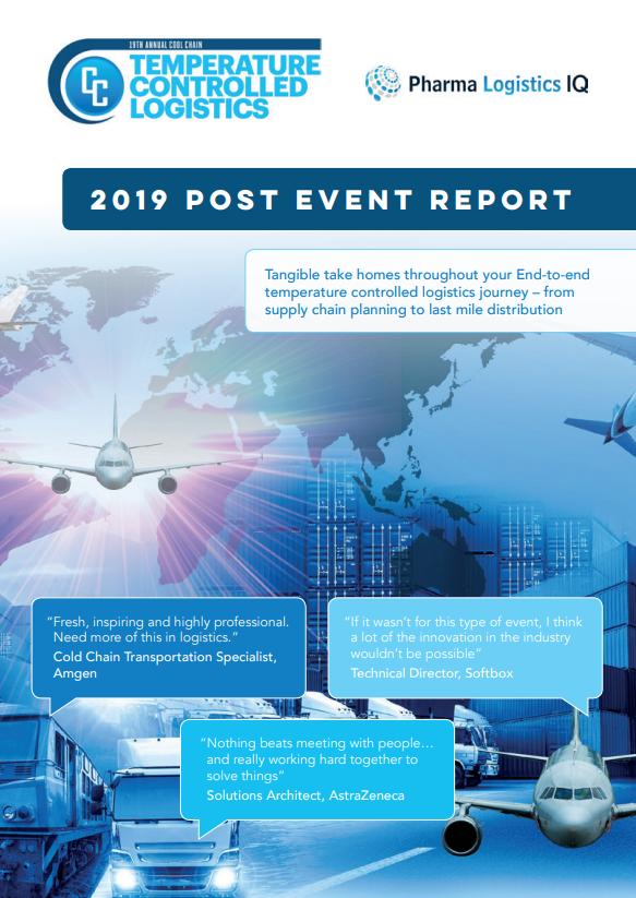 Temperature Control and Logistics 2019 -  Post Show Report