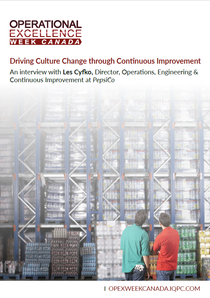 Driving Culture Change Through Continuous Improvement