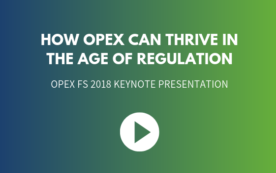 How OPEX can thrive in the age of Regulation
