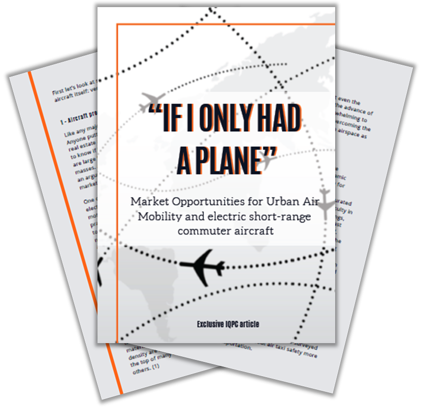 Article on market opportunities for urban air mobility