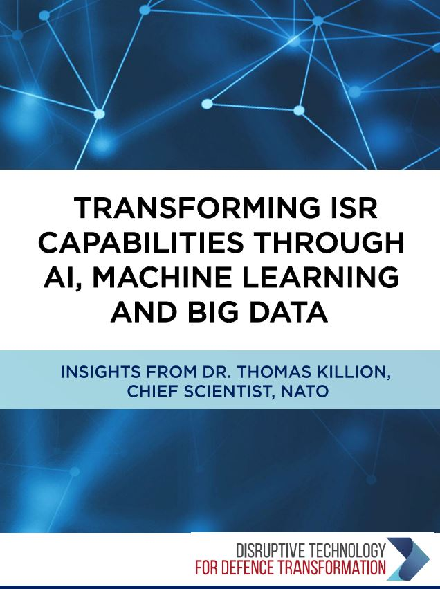Transforming ISR capabilities through AI, Machine Learning and Big Data