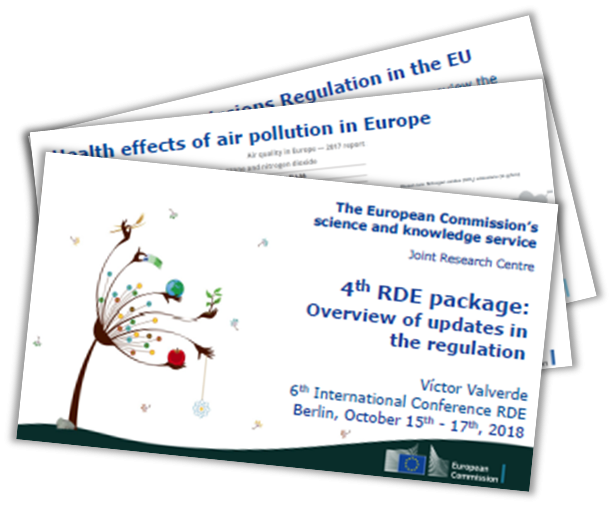 European Commission Presentation on the 4th RDE Package – Overview of Updates in the Regulation