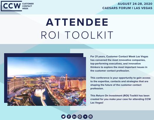 ROI Toolkit | CCW Vegas