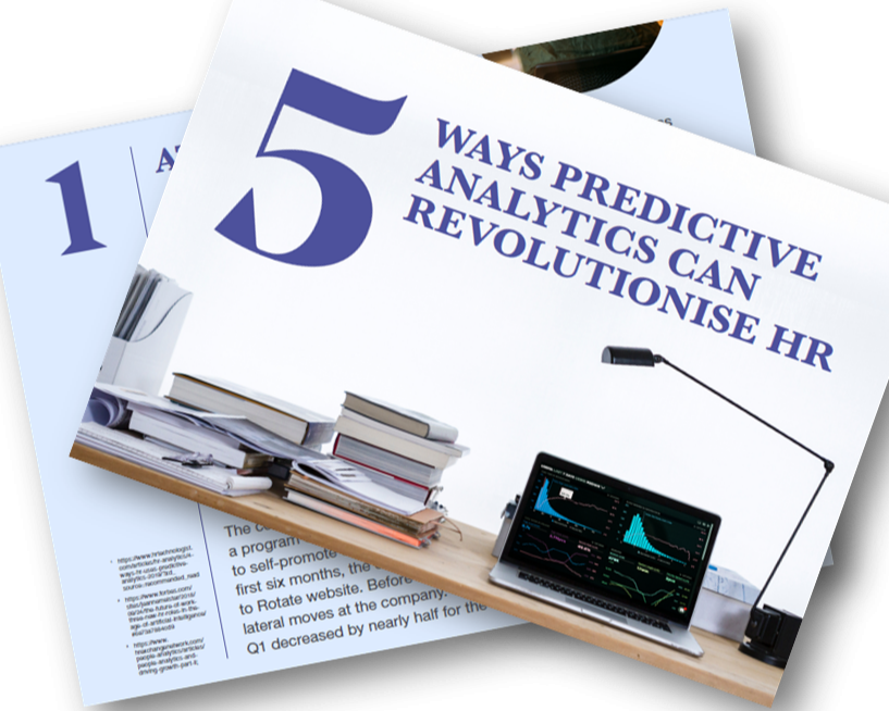 5 ways predictive analytics can revolutionise HR