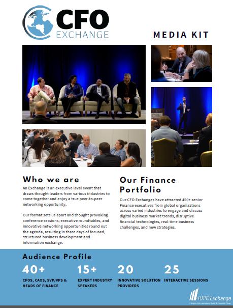 CFO Exchanges Media Kit
