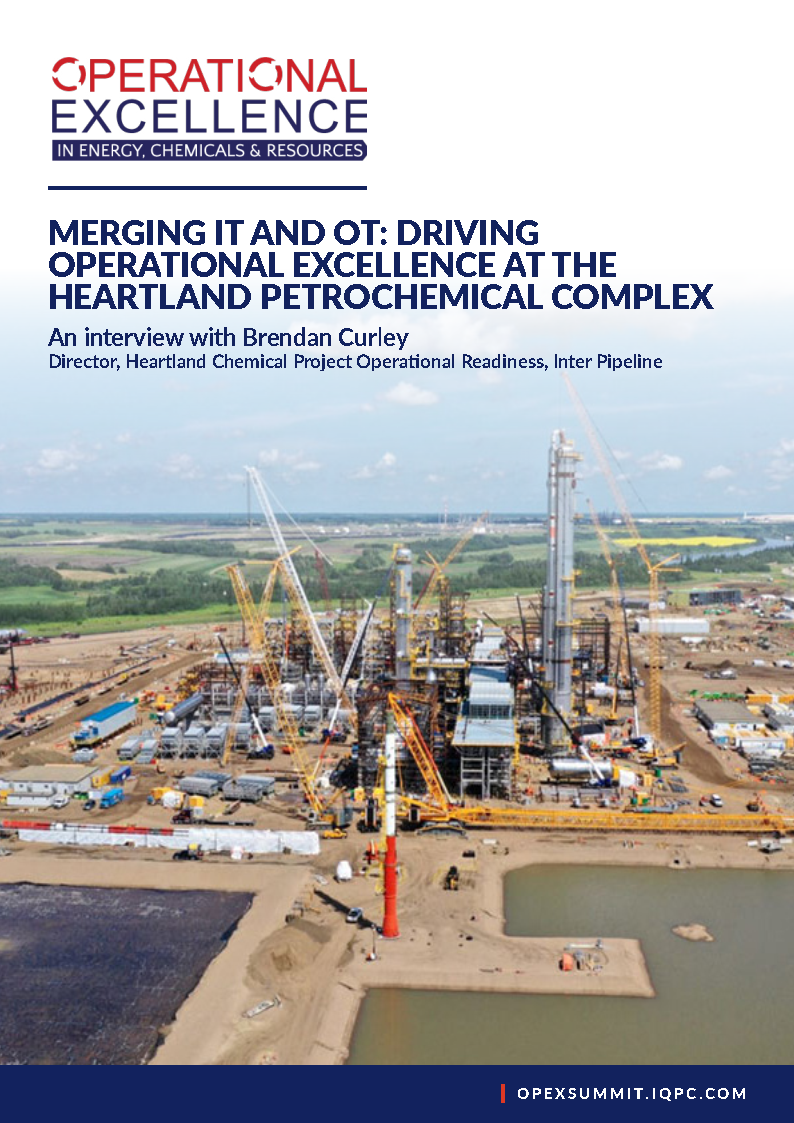 Merging IT and OT: Driving Operational Excellence at the Heartland Petrochemical Complex - Brendan Curley