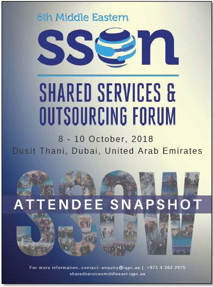 Attendee Snapshot: 6th Middle Eastern Shared Services and Outsourcing Forum