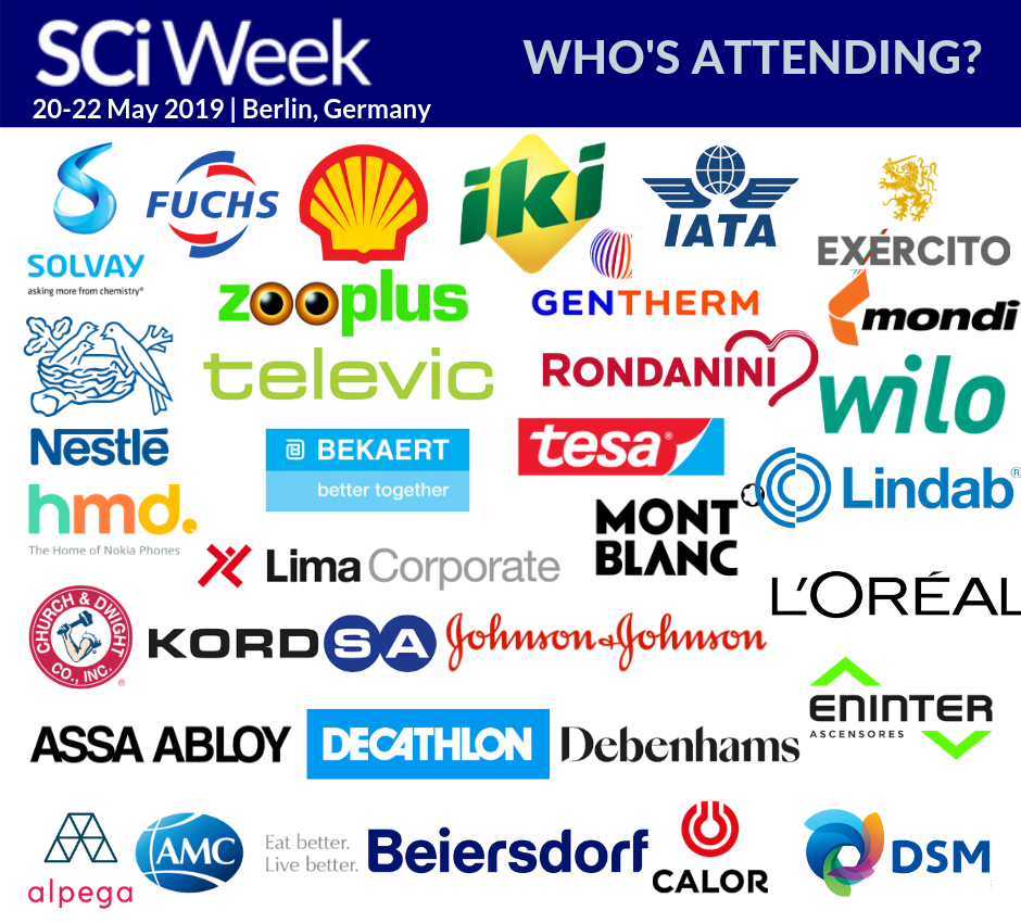 Supply Chain Industry Week Sample Attendee List