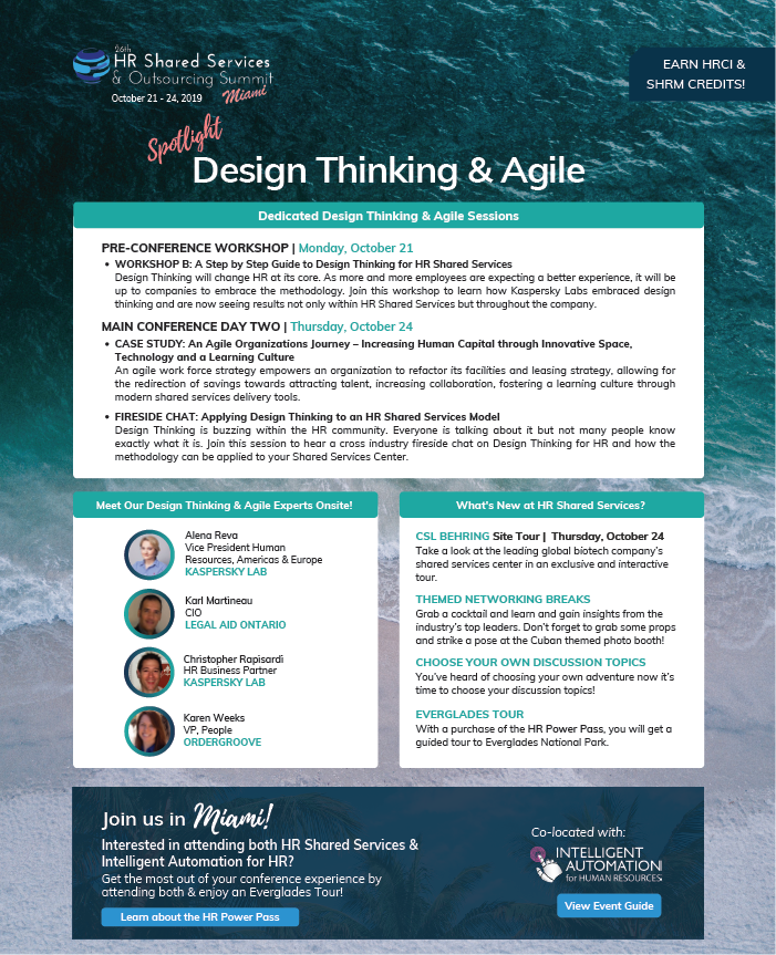Design Thinking & Agile Spotlight