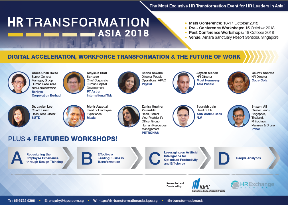 View your event guide –  HR Transformation Asia 2018