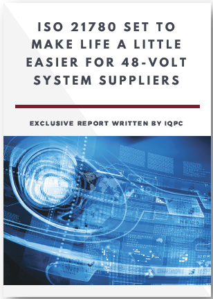 Article on ISO 21780 set to make life easier for 48V system suppliers