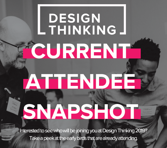 Design Thinking 2019 Current Attendee List