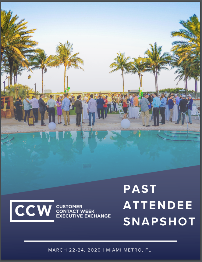 2019 Past Attendee Snapshot | CCW Executive Exchange Miami