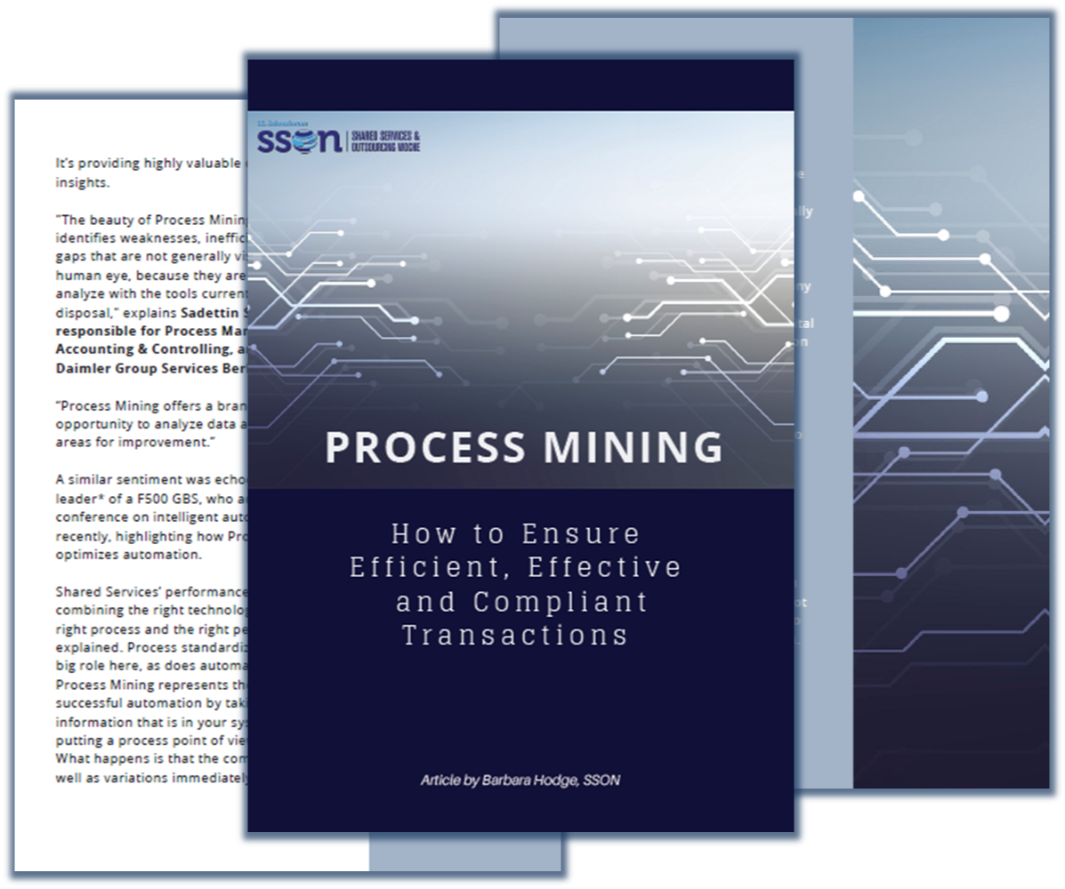 Article on PROCESS MINING: How to ensure efficient, effective and compliant transactions