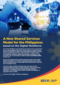 A New Shared Services Model for the Philippines