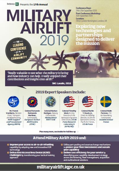 Military Airlift 2019 Programme